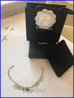 100% Auth Chanel Bracelet BNWOT Gold Tone withCharms-Absolutely Gorgeous