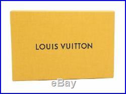 100% Authentic Louis Vuitton Key Chains Bag Charm Monogram Gold-tone Pink D1165