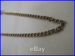 100% Authentic Louis Vuitton Key Wallet Chain Strap Bag Charm Gold-Tone 721