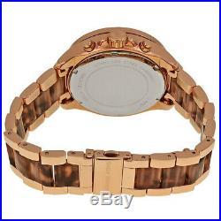 100% New Rose Gold Tone Women's Wren Pavé Acetate Watch Michael Kors MK6159