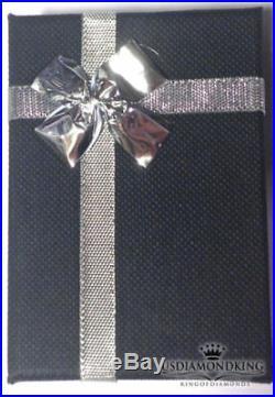 50ct 100% GENUINE DIAMOND JESUS HEAD FACE CROSS CHARM PENDANT WHITE GOLD TONE