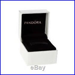 AUTHENTIC PANDORA CHARM 2-TONE LACE BOTANIQUE With14K DANGLE #791757 HINGED BOX