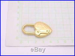 Auth HERMES 2004 Annee De La Fantaisie Cadena Charm Pendant Goldtone e41290
