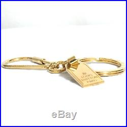 Auth LOUIS VUITTON Porte Cles Mini Travel Key Ring Holder Bag Charm M65996 SJ014
