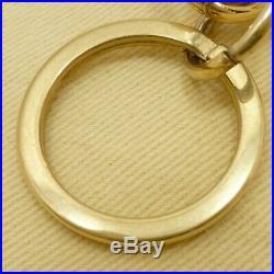 Auth LOUIS VUITTON Sphere Bag Charm Key Horder Gold Tone Brass M61024 #S211052