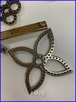 Auth Louis Vuitton Bijoux Sac Tapage Goldtone Key Holder Bag Charm