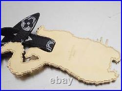 Auth Louis Vuitton Catgram Flying Cat Bag Charm White/Black/Goldtone e44911d