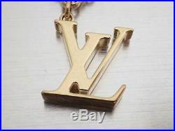 Auth Louis Vuitton Fleur Du Monogram Bag Charm Off White/Beige/Goldtone e44628d