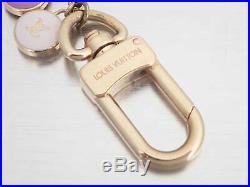 Auth Louis Vuitton Porte Cles Chaine Pastilles Bag Charm Goldtone e39606