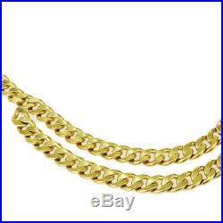 Authentic CHANEL Logos Charm Chain Long Belt Gold-Tone 95P Accessory 65ET479