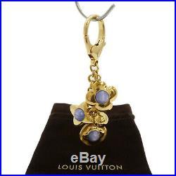 Authentic LOUIS VUITTON Bijoux Sac Tresor Charm Gold Tone M66335 #S311005