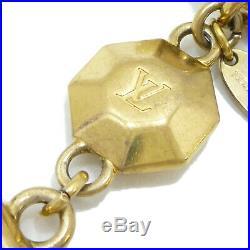 Authentic LOUIS VUITTON Porte Cles Facettes Bag Charm Gold Tone M65216 #S405077