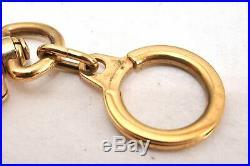 Authentic Louis Vuitton Charm Key Chain Anokre Gold M62694 LV 94434