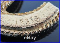 Authentic Vintage CHANEL CC Pendant Faux Pearls Goldtone Chain Necklace 17