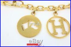 Hermes Breloque Olga Bag Gold Tone Charm For Kelly Or Birkin Bag