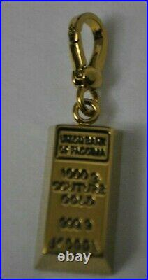 Juicy Couture Bar of Gold charm NEW