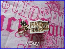 Juicy Couture Charm 2013 Ltd Gingerbread House Goldtone NEW