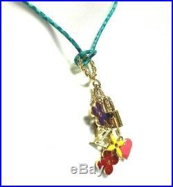 LOUIS VUITTON Multi Charm Necklace