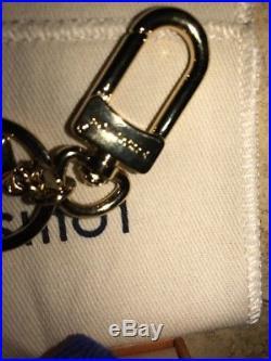 LV Facettes Bag Charm & Key Holder Nib From Paris