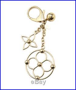 Louis Vuitton M67931 Bloomy Gold-tone Bag Charm Key Ring