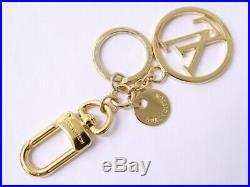 MNT LOUIS VUITTON LV Key Chain Bag Charm Italy M68000 Gold Tone 13151175200 G