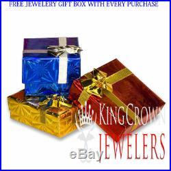 Mens New Genuine Real Diamond Jesus Face Head 14k Yellow Gold Tone Charm Pendant