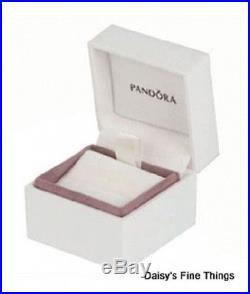 New! Authentic Pandora Charm 14k Galaxy Gold #750827cz Hinged Box