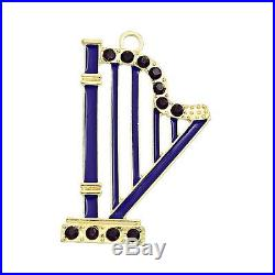 Wholesale lots Christmas X-mas Harp-Shaped Charms Pendants 5.7cm x4.1cm
